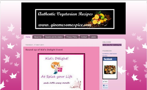 Authentic Vegetarian Recipes