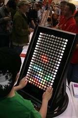 Tetris Buttons @ Maker Faire 2011