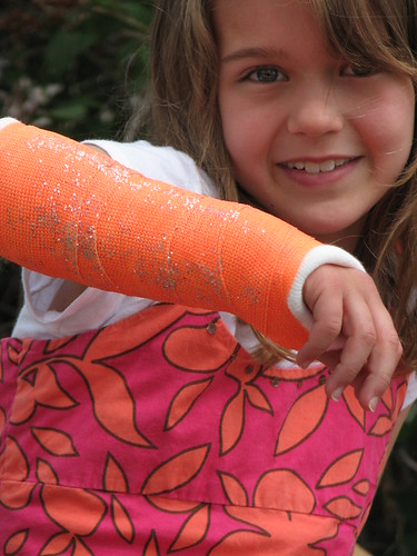 Sparkly Orange Popsicle Cast