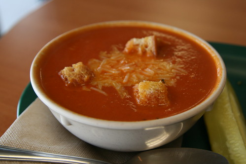 Tomato Bisque at Zuppas