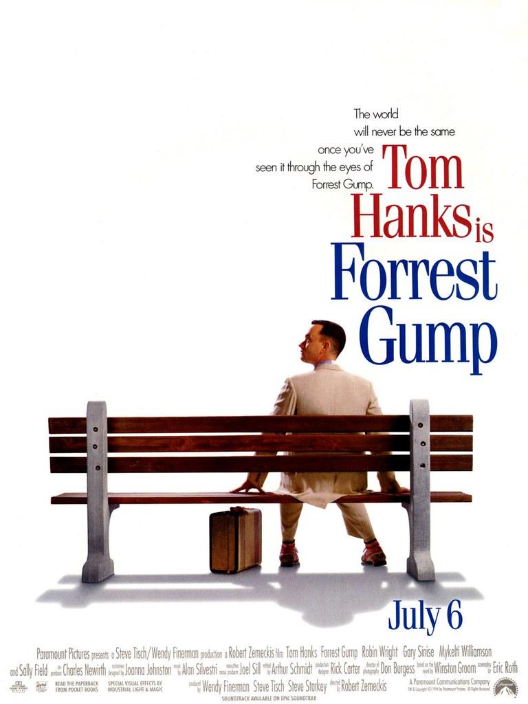 Forrest gump(阿甘正传)1994