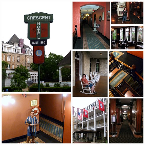 1886 Crescent Hotel Collage