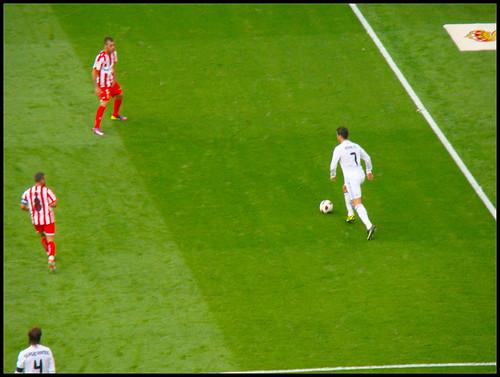 Cristiano Ronaldo en Bernabéu