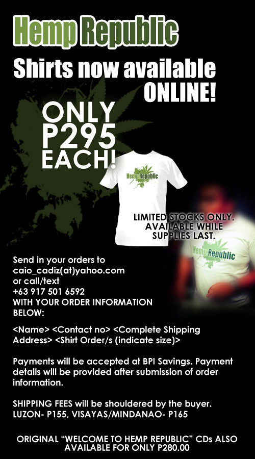 Hemp Online Order SHIRTS copy