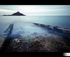 Mysterious Way for the Sanctuary Island (HD Photographie) Tags: ocean sea mer france fog pose way island nikon long exposure path explorer explore val hd nikkor brouillard andr chemin jete pire herv le longue 2011 ctes ctesdarmor plneufvalandr plneuf darmor d700 dapremont hervdapremont hervdapremont httphdphotographiedaportfoliocom