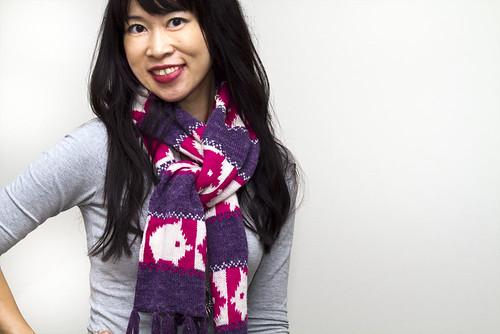 piggy scarf