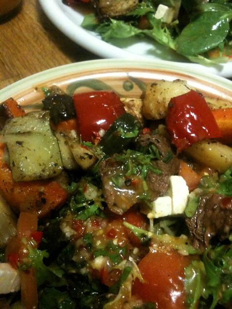 Roo salad @ Bent St