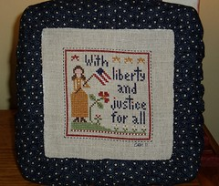LHN Liberty & Justice by Renee's Stitching
