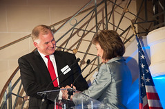 Deputy Secretary of Defense Bill Lynn  and AIA President and CEO Marion Blakey