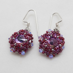 BF20110511 (beadingfantasy) Tags: earrings beading beaded beadweaving shirleylim beadandbutton
