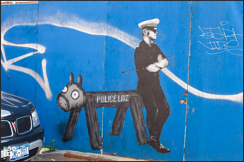 New York Street Art - Police officer