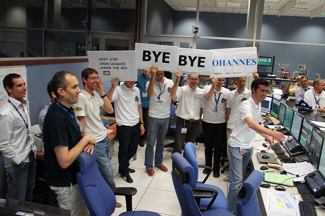 Kepler: End of mission at ATV-CC