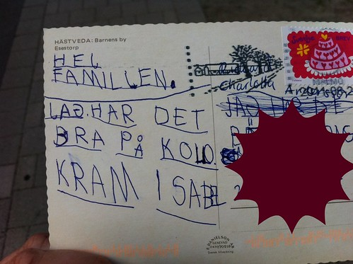 Post card from Isabel