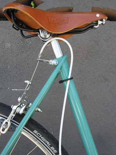Raleigh Grand Prix restoration at Flying Pigeon LA