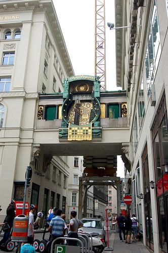 Ankeruhr Vienna 音樂鐘廣場