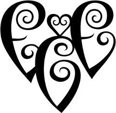 """""""ECE"""" Heart Design"""