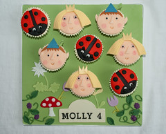 Ben and Holly's Little Kingdom Cupcakes (thecustomcakeshop) Tags: birthday cup cake cupcakes little ben kingdom holly cupcake ladybird magical gaston hollys benandhollyslittlekingdom