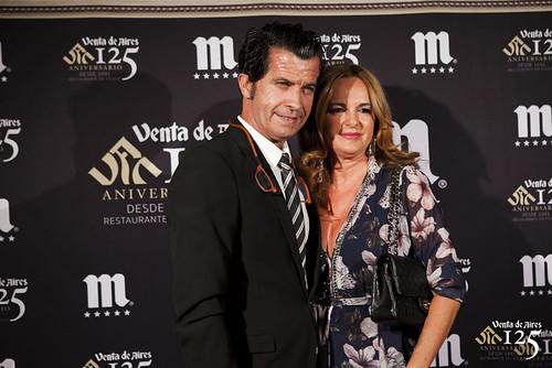 Alberto Romero y Raquel. Restaurante Venta de Aires de Toledo