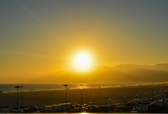 Great Sunset (Jorge Hamilton) Tags: california los angeles santa monica san diego miniatura praia beach sun sol cliffs shores jorgehamilton brandao brando anaheim parquedediverses flickr photo foto fotografia photography paradisepier disney disneyland disneyworld