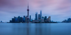 Shanghai (jsvamm) Tags: ifttt 500px shanghai dawn peoples republic china sunrise morning sun sky water blue light river pearl tower pudong puxi waitan