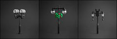 TheNewBlack - Lamps (Legopard) Tags: lego black lamps light