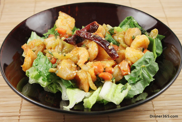 Day 80 - Sesame Shrimp Salad