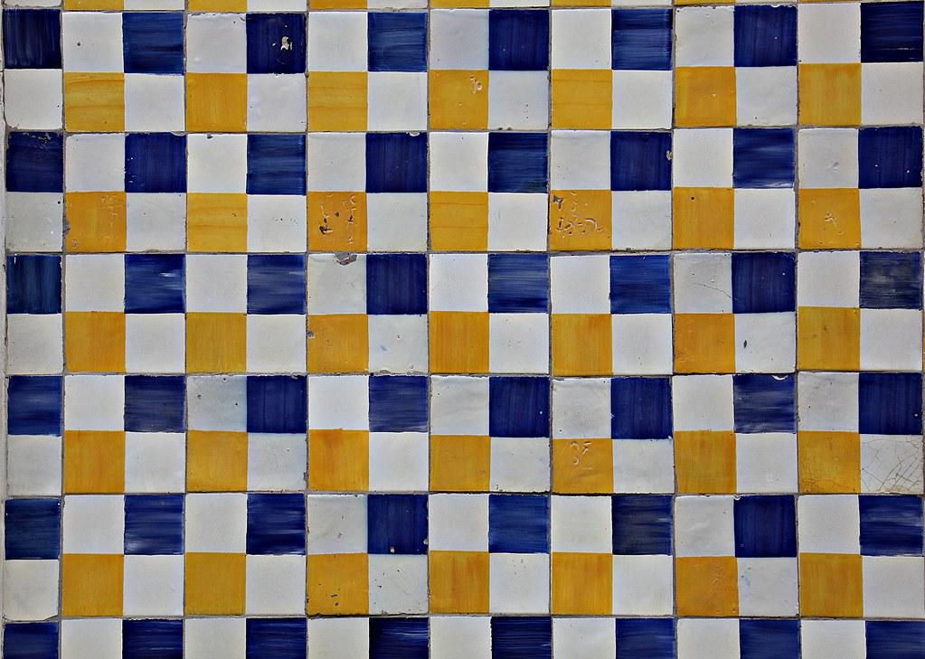 Azulejo Português / Portuguese Tiles - São Luís - Maranhão - Brasil