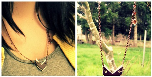 Pocahantus necklace by punkscrapper