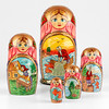 Fairytale of Golden Fish Nested Doll (The Russian Store) Tags: matrioshka matryoshka russiannestingdolls кукла stackingdoll русская russianstore матрешка russiangifts русскиймагазин russiancollectibledolls shoprussian русскиеигрушки русскиеподарки русскиесувениры