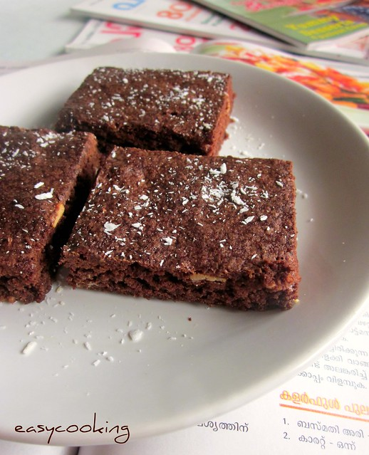 Coconut Brownies ed
