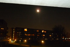 Moon over Flat