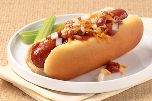 Slow-Cooker Chili Dog