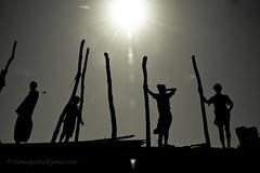 ................. (Shad0w_0f_Dark) Tags: travel sea sun man fisherman support patterns stmartin 2011 sylhot