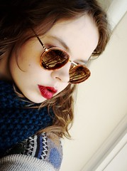 Spring Spring SPRING (hellopie) Tags: trees sun sunglasses scarf sweater spring shades redlipstick d90