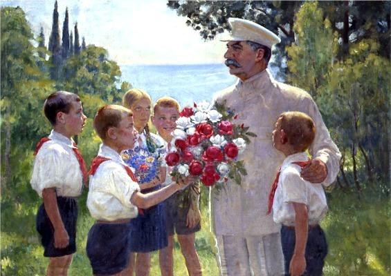 Boris Vladimirski, Roses for Stalin, 1949 - a photo on Flickriver