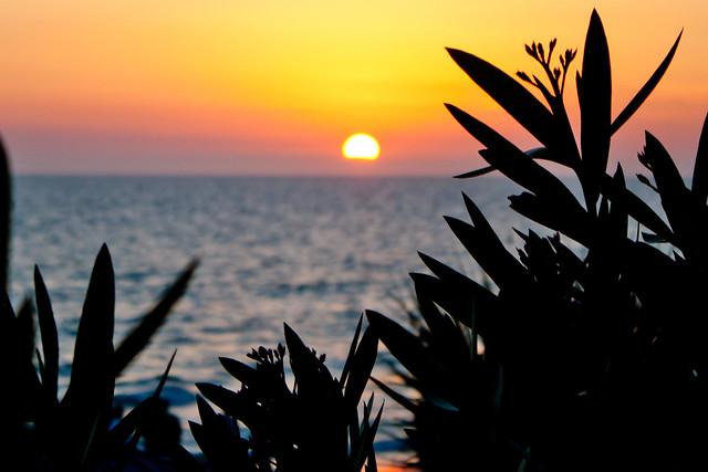 Sunset over North Redington Beach, Florida
