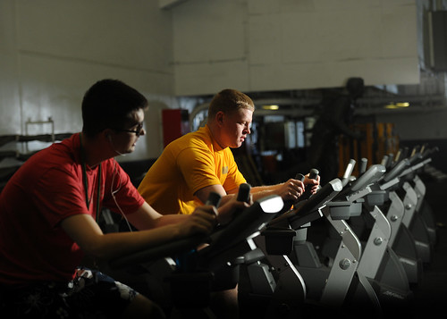 Sailors work out to prepare for upcoming by Official U.S. Navy Imagery, on Flickr