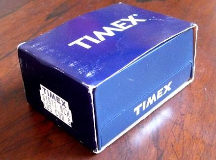 Blockhead watch - Timex box 2