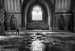 paradise lost (Desolate Places) Tags: school abandoned church catholic god michigan detroit cathederal godliness