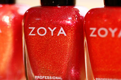 LOVE the Sunshine collection from Zoya.  LOVE!