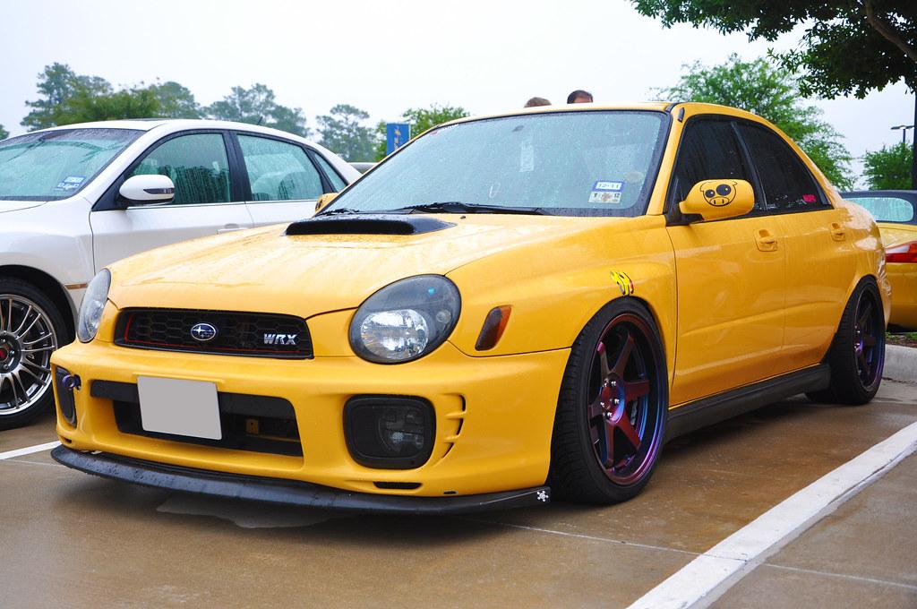 Fs For Sale Tw 2003 Sonic Yellow Impreza Wrx Low