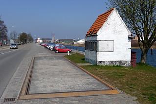 Goes, Westhavendijk: Weegbrughuisje