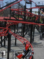 "Six Flags Discovery Kingdom Spinning Coaster • <a style=""font-size:0.8em;"" href=""http://www.flickr.com/photos/56515162@N02/5591861313/"" target=""_blank"">View on Flickr</a>"