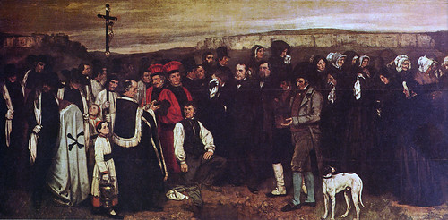 Entierro en Ornans, 1849