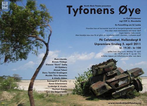 Tyfonens Øye plakat