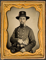 [Lieutenant Colonel Julius A. Andrews, Confederate States Army] (SMU Central University Libraries) Tags: texas confederate civilwar csa officers