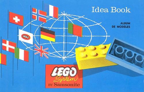 Lego Samsonite Canadian Idea Book