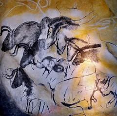 Etologic horse study, Chauvet´s cave (The Adventurous Eye) Tags: horses history archaeology museum painting cave paleonthology anthropos chauvet paleonthologic