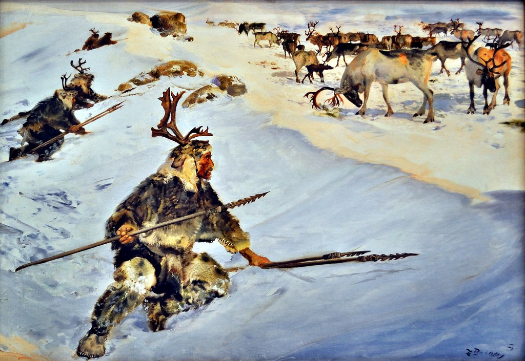 Magdalenian Reindeer Hunters The Adventurous Eye Tags History Archaeology Museum Picture Hunter