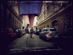 An ordinary day in the city (TheMutantCow / MutánsTehén) Tags: texture giant shoes grunge budapest granny buda pest cipő nagyi óriás budapest23 nagymamai